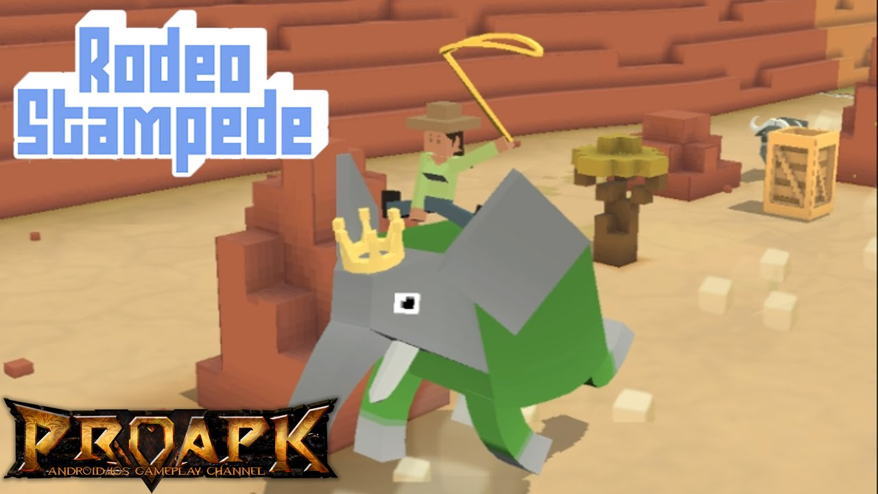 Rodeo Stampede Gameplay Ios Android Youtube