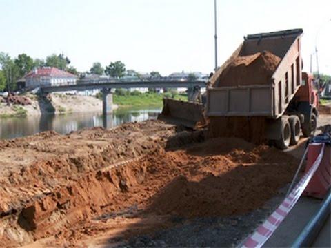 В Вологде началась реконструкция Пречистенской набережной