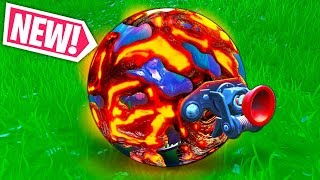 *NEW* LAVA BALLER!! - Fortnite Funny WTF Fails and Daily Best Moments Ep.1004
