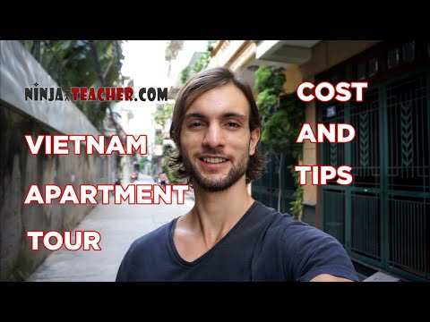Teaching English In Vietnam Apartment Tour, Cost and Tips
