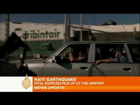Disputes emerge over Haiti aid control