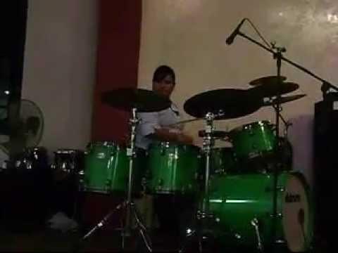 Damaris Diaz  (Graduacion de Bateria) Instituto Musical Cristiano Bethesda. !!