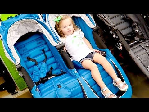 PICKING A NEW DOUBLE STROLLER! (Baby Jogger, City Select)