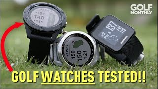 GPS GOLF WATCHES TESTED!!! Golf Monthly