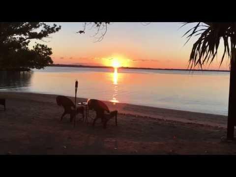 the magical Vanuatu sunrise over Bali Hai (Ambae island) - today ~