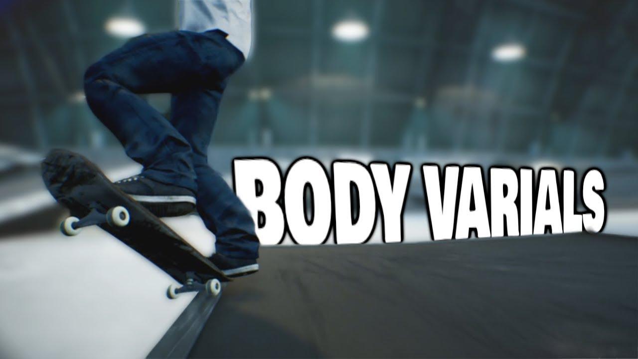 SESSION: Crazy Body Varial Tricks