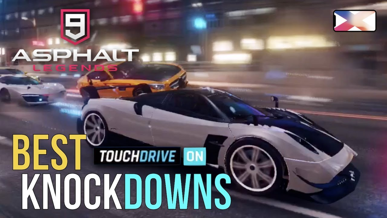 Download ASPHALT 9: LEGENDS - Best Knockdowns Part 1 - Touchdrive Edition