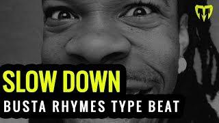 """Dark Banger Hip Hop 2014 Instrumental """"SLOW DOWN hook by MARKA"""""""