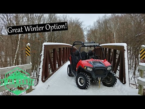 Gandy Dancer ATV Trail Review - South Section
