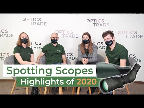 Spotting Scopes 2020 NEW Products & Highlights   Optics Trade Roundtable