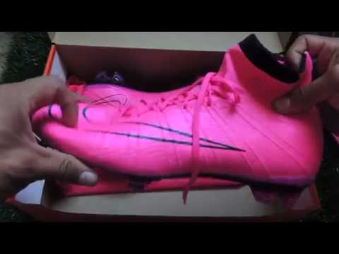 the latest 1ea3b ebbf3 Unboxing nike mercurial superfly rosa