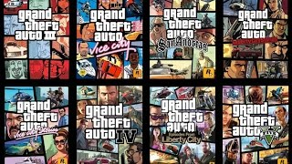 GRAND THEFT AUTO TRAILERS 1-5