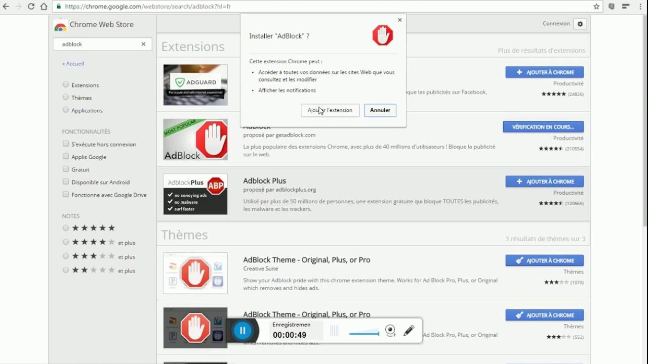 Tuto Comment Supprimer Toute Les Page De Pub Sur Google Chrome