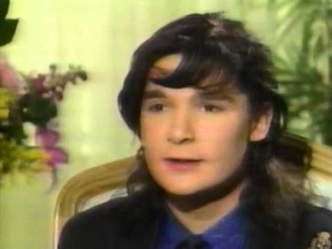 Corey Feldman RARE INTERVIEW 1989