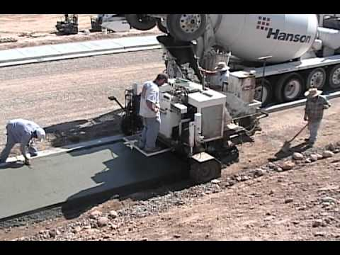 Curb Fox 5000 Curb And Gutter Machine Paving Sidewalk In
