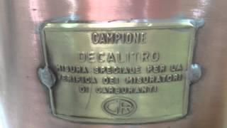 SERBATOI PER MISURATORI DI CAMPIONATURA : DITTA COLAMESTA -BARI