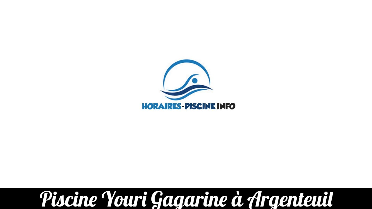 Piscine Youri Gagarine A Argenteuil Youtube