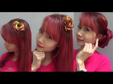 Hairstyles - 6 Cách Tết Tóc Hoa Hồng Dễ Như Ăn Kẹo