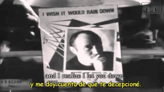 Phil Collins - I Wish It Would Rain Down Subtitulado en Español e Inglés HD