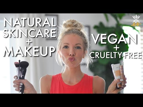 My Natural Skincare & Makeup Routine (Vegan + Cruelty-free Cosmetics)
