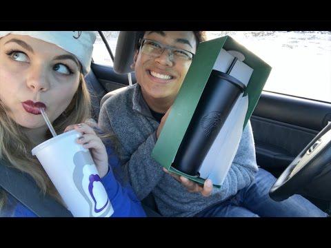 Limited Edition Matte Black Starbucks Cup Adventure