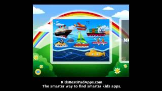 Ipad Apps For Kids: Transport Jigsaw Puzzles 123 Free For Ipad