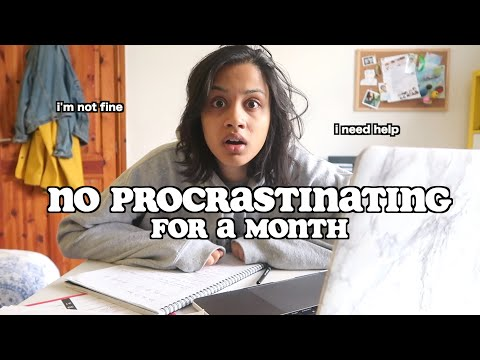 i tried to go a month without procrastinating..this is what happened | clickfortaz