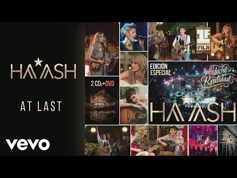 HA-ASH - At Last (Versión Big Band) [Cover Audio]
