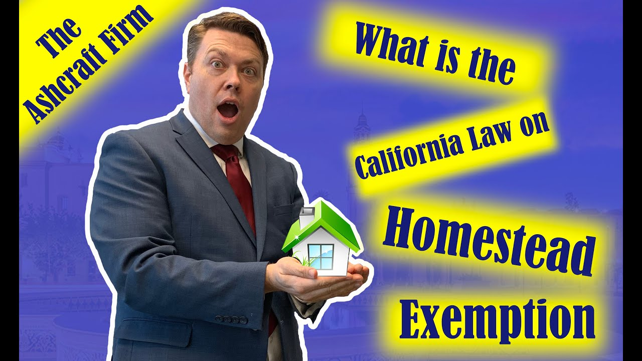 What is the Homestead Law in California