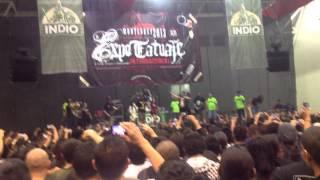 Brujería - Matando Güeros (live at Cintermex, Expo Tatto MTY 2013)