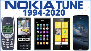 Nokia Tune Evolution   1994-2020
