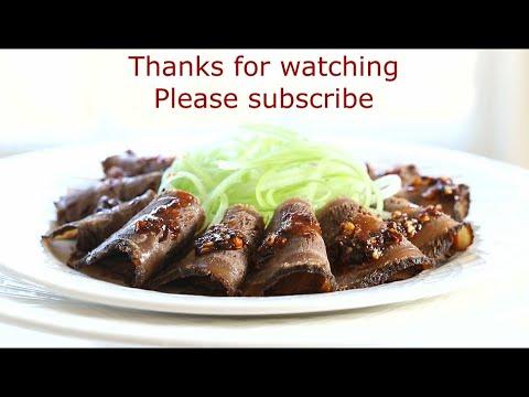 这样卤牛肉不是行家就是高手,独特方法学会可以开店 Chinese Marinated Beef Shank