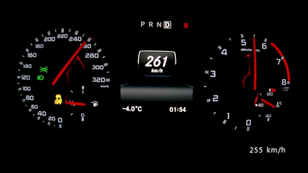 Mercedes A 45 Amg 2014 Acceleration 0 260 Km H Top