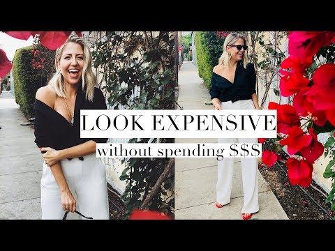 How To Look Expensive with ZERO Money!!
