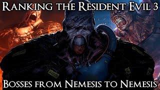 Ranking the Resident Evil 3 Remake Bosses from Nemesis to Nemesis