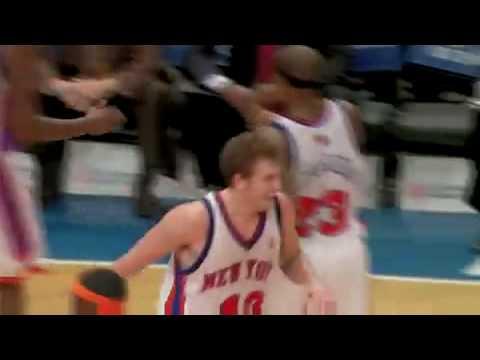 NYK vs Golden State Warriors 11/29/08 game recap (Duhon 22 ast)
