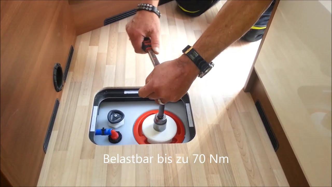 Wohnmobil Wassertank Werkzeug