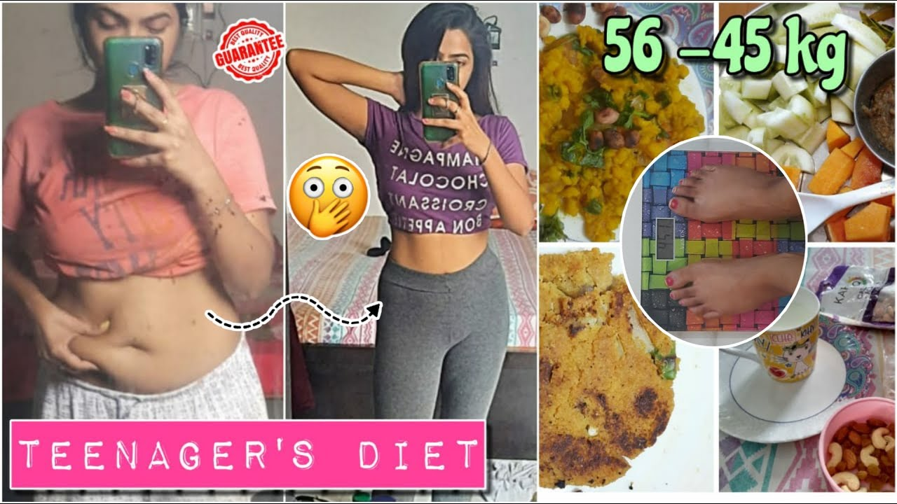 DIET PLAN FOR TEENAGERS to lose WEIGHT in just 2 WEEKS 😱|| loss upto 6-10 kg in 2 weeks💯 GUARANTEE