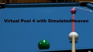 Introducing Virtual Pool 4 (pool simulator game for PC)