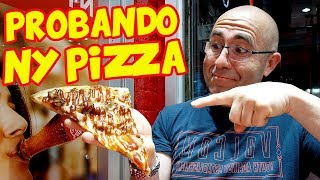 Probando NEW YORK PIZZA en MANHATTAN