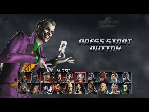 Mortal Kombat VS DC Universe - Arcade Playthrough (PS3)