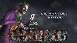 Mortal Kombat VS DC Universe - Arcade Playthrough (PS3)