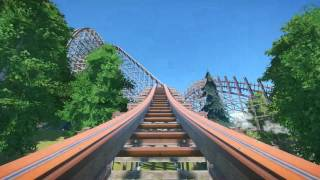bandit a planet coaster rmc wooden coaster