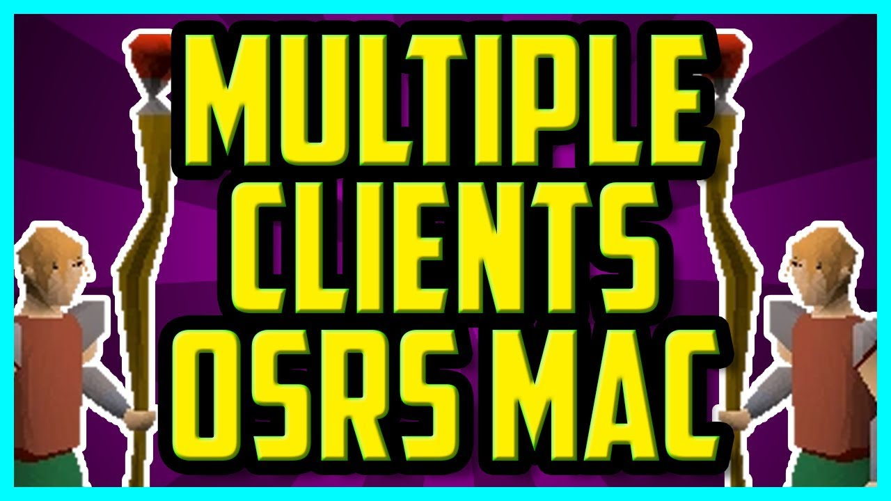How To Open 2 OSRS Clients On Mac 2017 (EASY) - Multiple Clients On Mac OSX  OSRS (Multilog Osrs Mac)