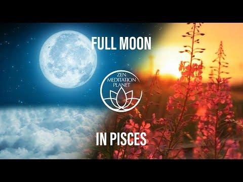 Full Moon in Pisces Chandra Namaskar - Lunar Power Moon Bathing Relaxing Music