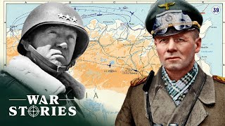 Patton And Rommel Showdown In Tunisia | Greatest Tank Battles | War Stories