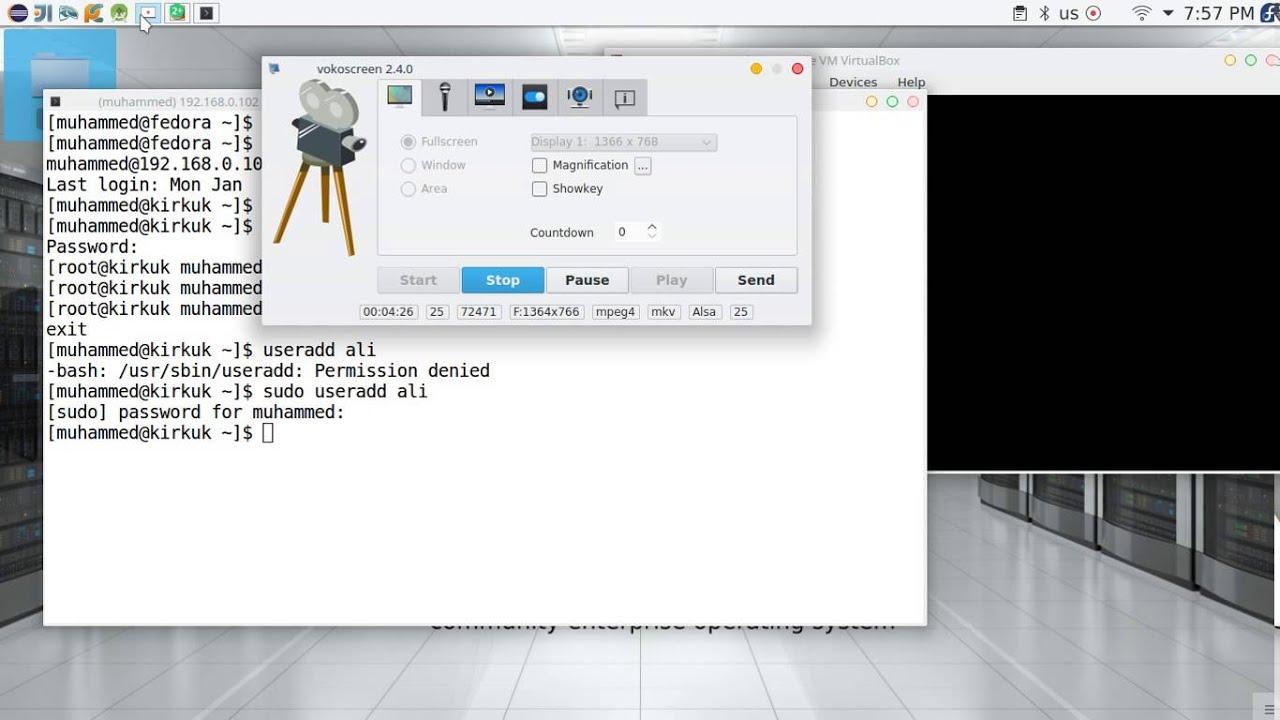 19 CentOS 7 SSH configuration file
