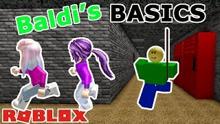Roblox: Baldi's Basics / WE COLLECT ALL 7 NOTEBOOKS AND PLAY AS BALDI! 📒