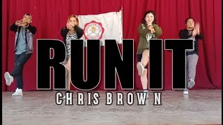 RUN IT | Chris Brown | Dance Fitness | JM x CM