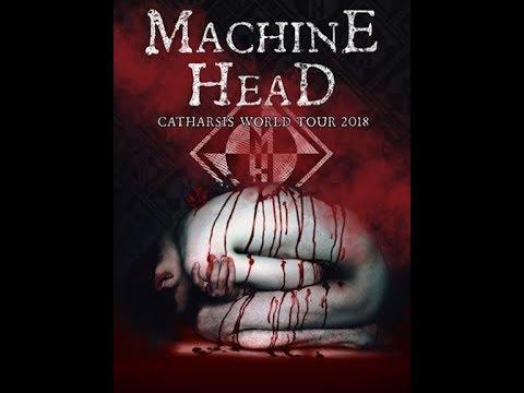 """Machine Head new album """"Catharsis"""" + Catharsis tour announced..!"""